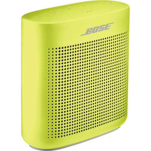 Bose SoundLink Color II Bluetooth Speaker (Yellow Citron)