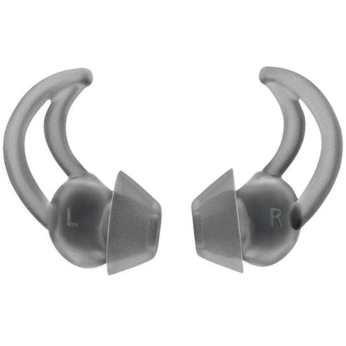 Bose StayHear+ Sport Tip for Select SoundSport Wireless Headphones (2-Pairs, Large, Smoke)