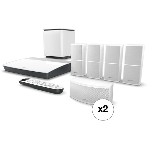 Bose Lifestyle 600 Home Theater System Pair Kit (White)
