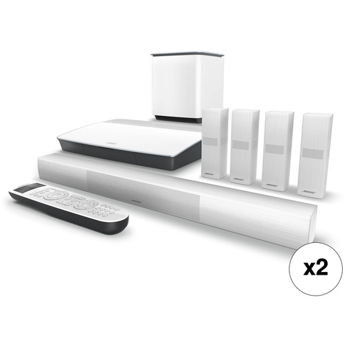 Bose Lifestyle 650 Home Theater System Pair Kit (White)