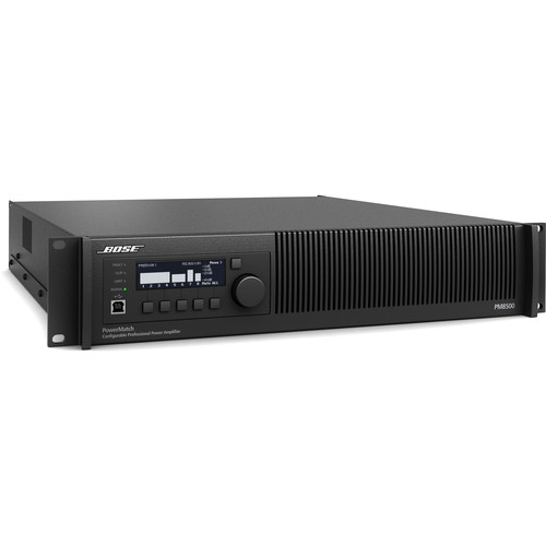 Bose Professional PowerMatch PM8500N Power Amplifier with Ethernet Network Control