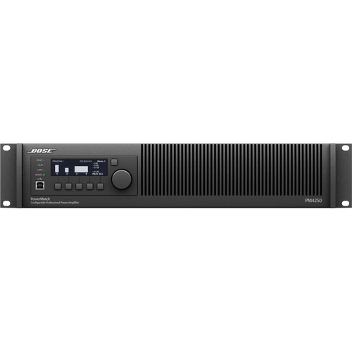 Bose Professional PowerMatch PM4250N Power Amplifier with Ethernet Network Control (2RU)