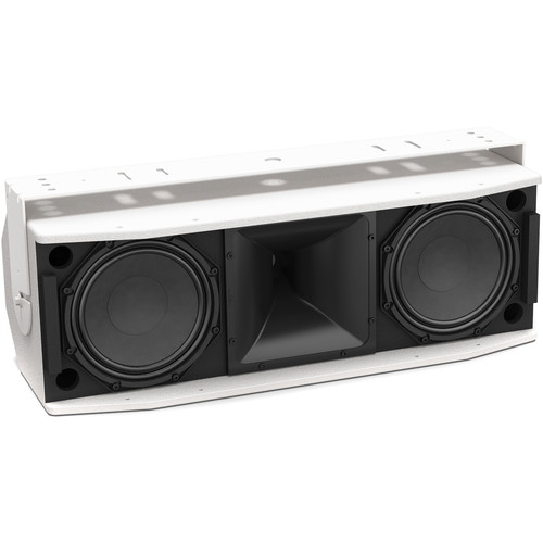 Bose Professional RoomMatch Utility RMU208 Small-Format Two-Way Dual-Woofer Loudspeaker (White)