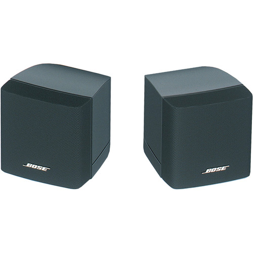 Bose Professional FreeSpace 3 Surface-Mount Satellite Loudspeaker (Pair, Black)