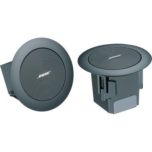 Bose Professional FreeSpace 3 Flush-Mount Satellite Loudspeaker (Pair, Black)