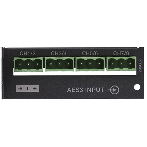 Bose Professional ControlSpace ESP-00 AES3 8-Channel Input Card