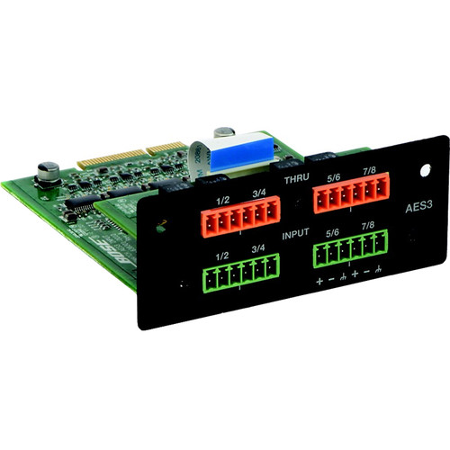 Bose Professional PowerMatch AES3 8-Channel Input Card
