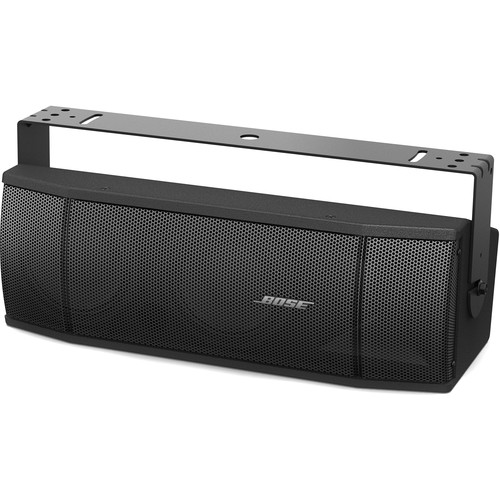 Bose Professional RoomMatch Utility RMU206 Small-Format Two-Way Dual-Woofer Loudspeaker (Black)