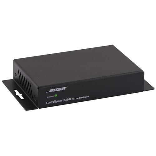 Bose Professional ControlSpace EP22-D 2-Input / 2-Output Dante Endpoint