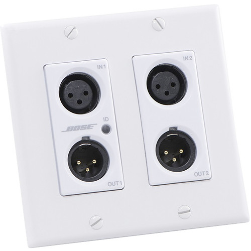 Bose Professional ControlSpace WP22B-D Dante Wall Plate