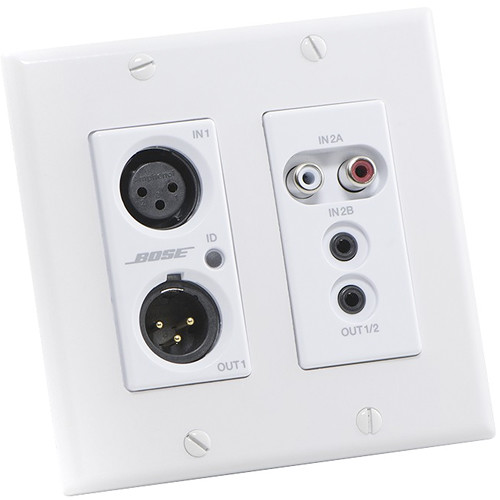 Bose Professional ControlSpace WP22BU-D Dante Wall Plate