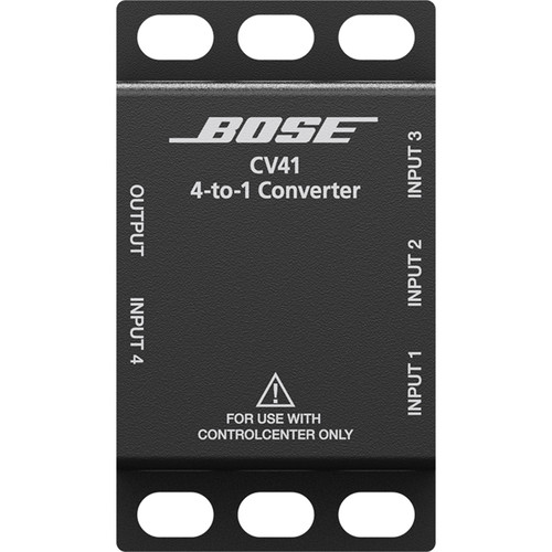 Bose Professional ControlCenter CV41 4-to-1 Converter for PowerShare Systems