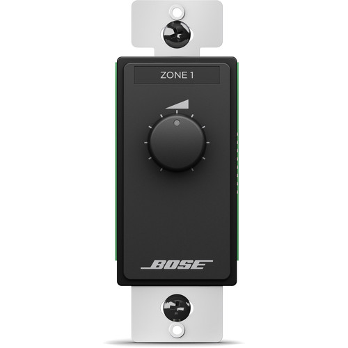 Bose Professional ControlCenter CC-1 Zone Controller (US, Black)