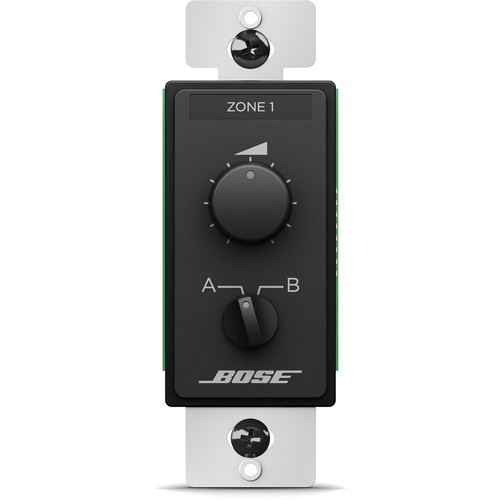 Bose Professional ControlCenter CC-2 Zone Controller (US, Black)