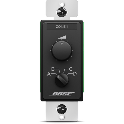 Bose Professional ControlCenter CC-3 Zone Controller (US, Black)