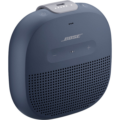 Bose SoundLink Micro Bluetooth Speaker (Midnight Blue with Smoky Violet Strap)