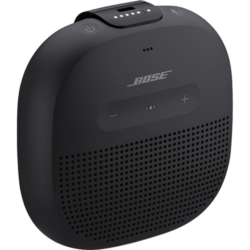 Bose SoundLink Micro Bluetooth Speaker (Black with Black Strap)