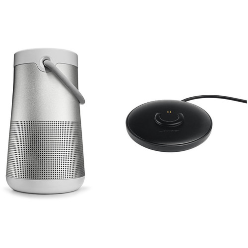 Bose SoundLink Revolve+ Bluetooth Speaker with Charging Cradle (Lux Gray)