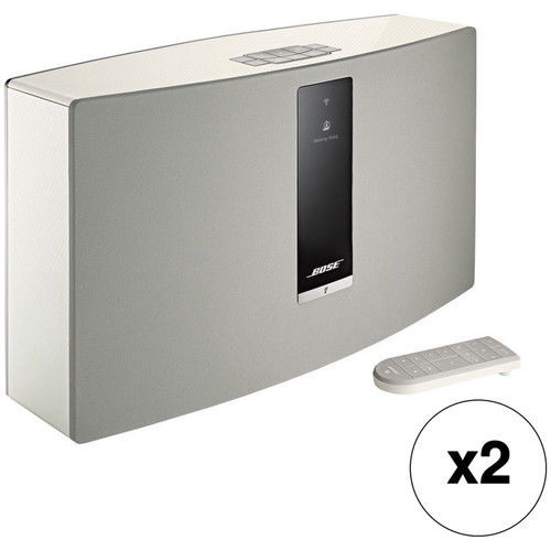 Bose SoundTouch 30 Series III Wireless Music System Pair Kit (White)