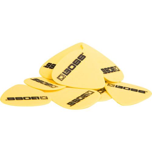 BOSS BPK-72-D73 Delrin Guitar Picks .73mm Medium (Yellow, 72-Pack)