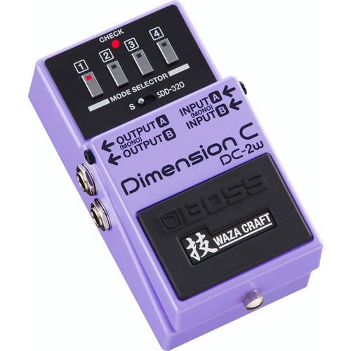 BOSS DC-2W Dimension C Effects Pedal for Electric Guitarists