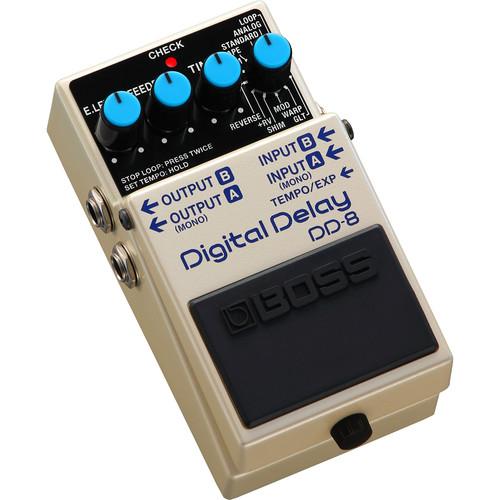 Boss DD-8 Digital Delay Pedal for Electric Guitars