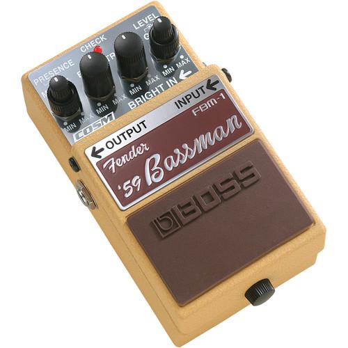 BOSS FBM-1 Fender '59 Bassman Pedal