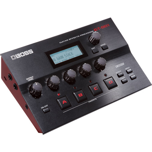 BOSS GT-001 Desktop Guitar Effects Processor