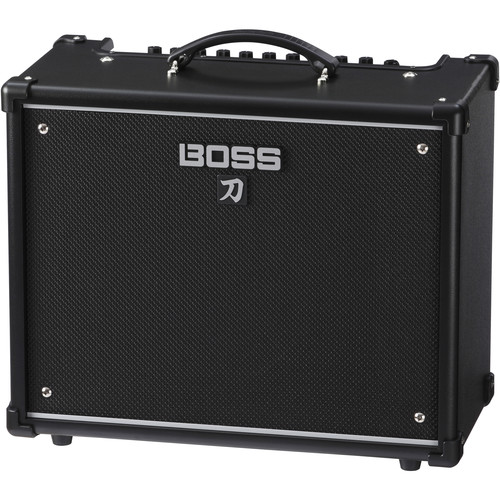 boss katana 50 50w 1x12 combo amplifier for electric ktn 50. Black Bedroom Furniture Sets. Home Design Ideas