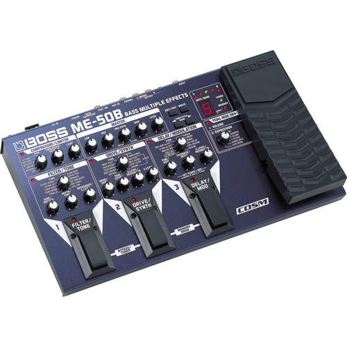 BOSS ME-50B Bass Multiple Effects Processor