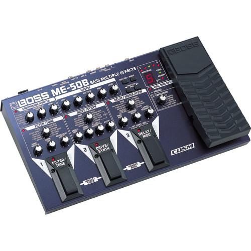 BOSS ME-50B Bass Multiple Effects Processor