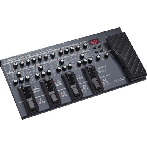 BOSS ME-80 Guitar Multi-Effects Processor