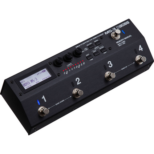 Boss MS-3 Multi-Effects Switcher with Onboard Processing