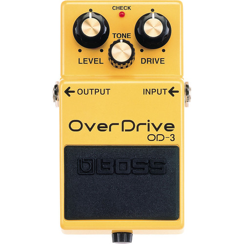 BOSS OD-3 OverDrive Guitar Pedal