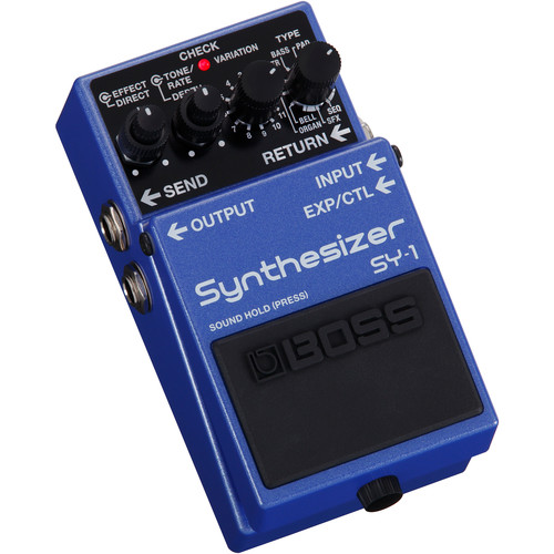 BOSS SY-1 Synthesizer Pedal for Electric Guitar