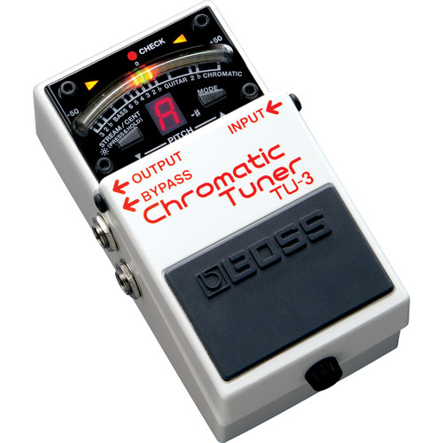 Boss TU-3 Chromatic Tuner for Electric & Bass Guitars