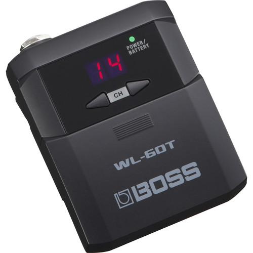 Boss WL-60T Wireless Transmitter for WL-60 Wireless Guitar Systems