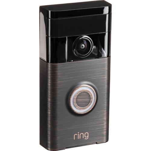 Ring Ring Video Doorbell (Venetian Bronze)