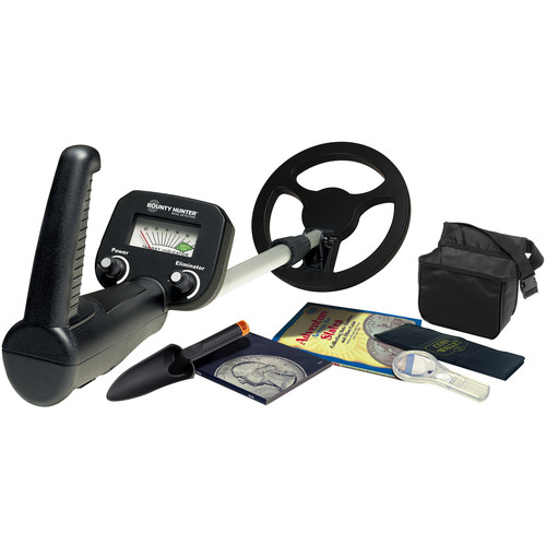 Bounty Hunter Junior Metal Detector with Coin Collecting Kit