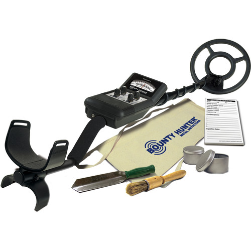 Bounty Hunter Fast Tracker II Metal Detector with Archeology Kit
