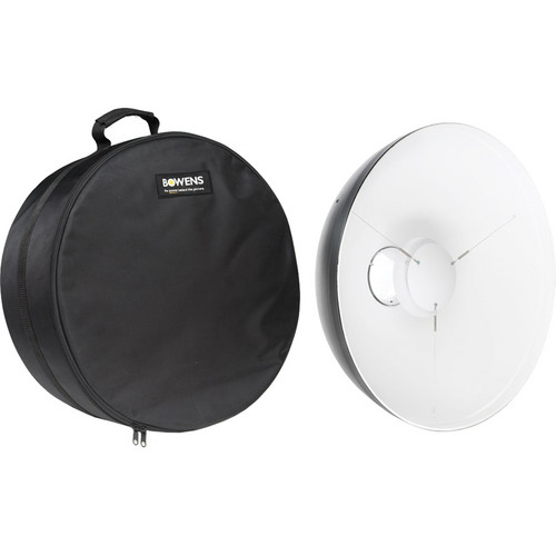 "Bowens 21"" Beauty Dish Reflector with Case (White)"