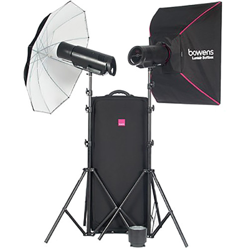 Bowens XMS500 2-Light Flash Kit