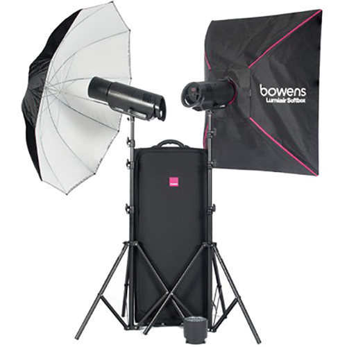 Bowens XMS1000 2-Light Flash Kit