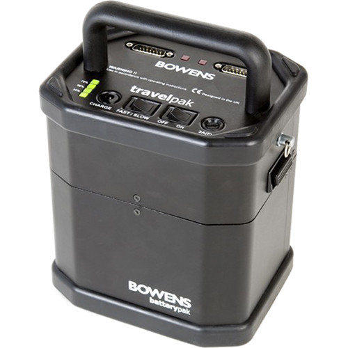 Bowens Travelpak Battery System Kit (Large)