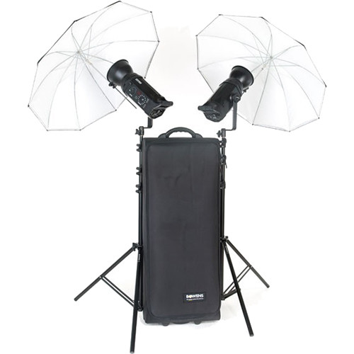 Bowens Gemini 500R 2-Light Kit with Travelpak Battery System