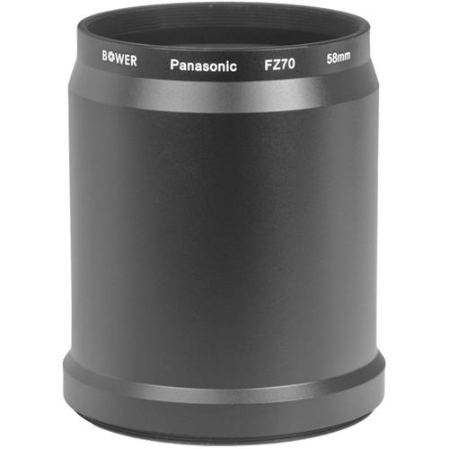 Bower 58mm Adapter Tube for Panasonic FZ70 Digital Camera