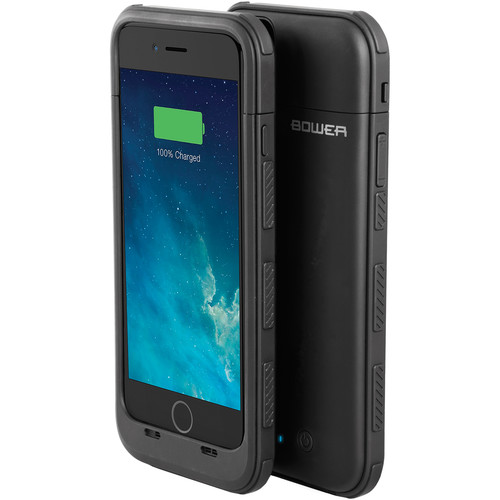 Bower DOME 3200mAh Power Case for iPhone 6/6s (Black)