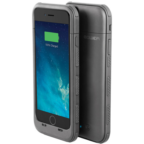 Bower DOME 3200mAh Power Case for iPhone 6/6s (Silver)
