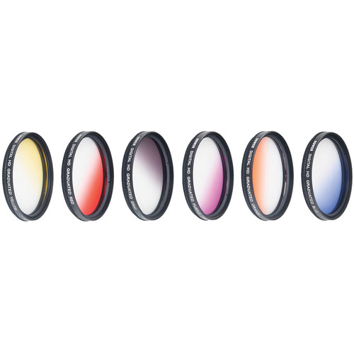 Bower 58mm Graduated Color Filter Kit