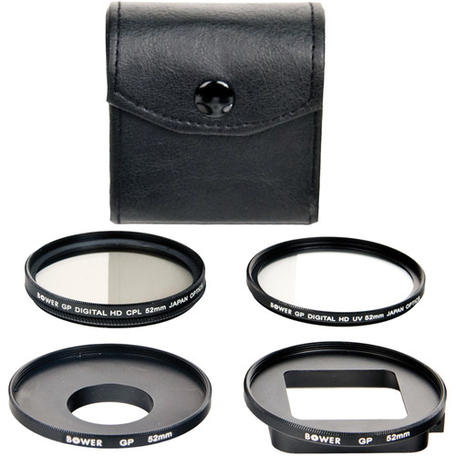 Bower 5 Piece Filter Kit for GoPro HERO3+
